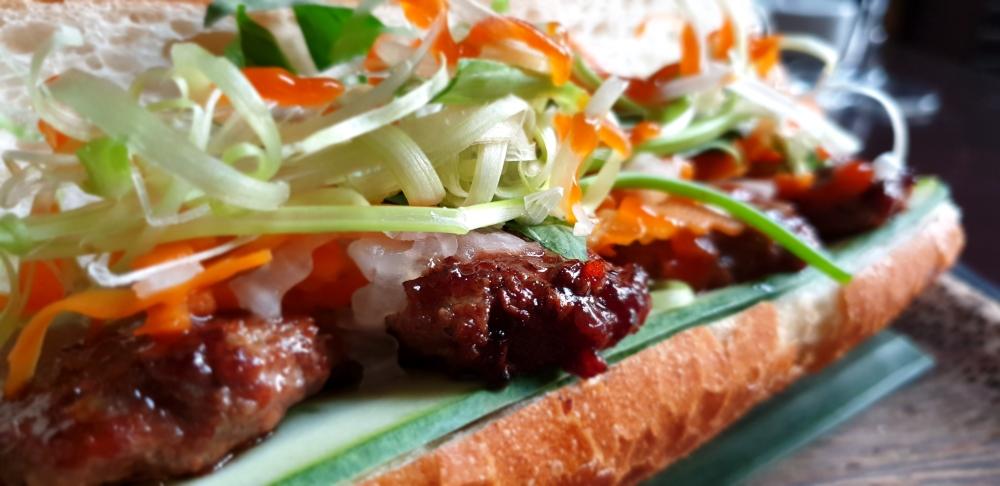 street food vietnam, banh mi