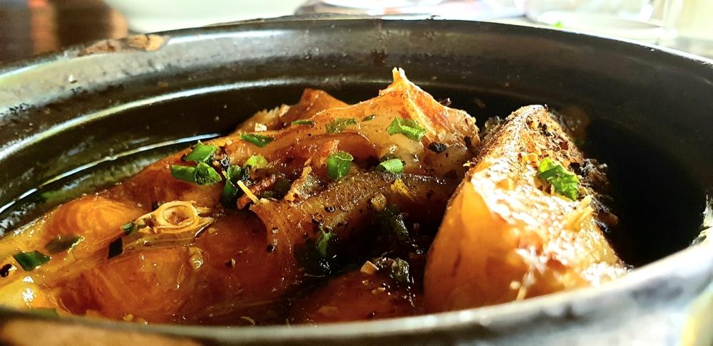 street food vietnam, fish stew