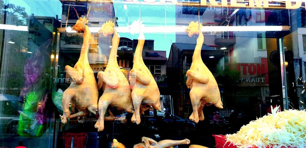 street food vietnam, chicken